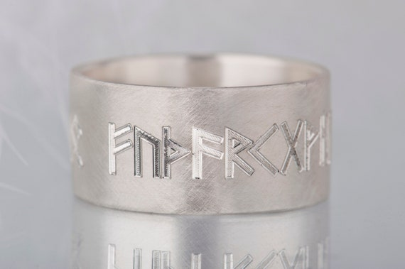 Viking ring, Nordic runes ring