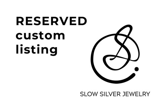 RESERVED! Sterling silver moonstone ring and 14K yellow gold band
