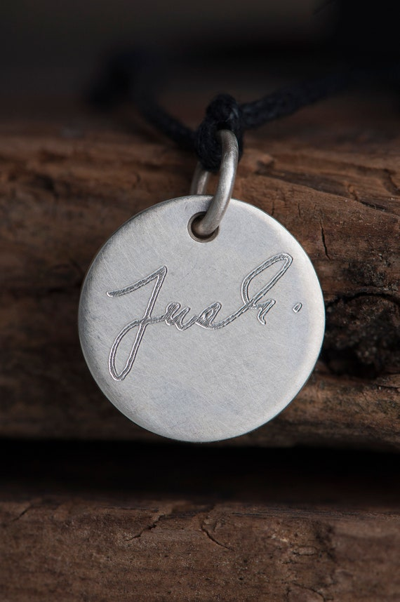 Handwritten Charm, Bracelet with handwriting, Personalised Gift