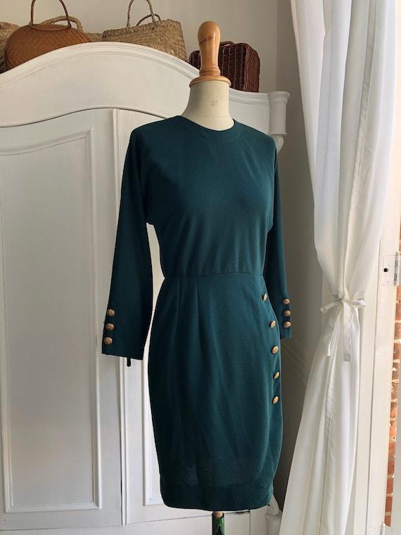 Vintage 1980's does 1950's/1960's wiggle dress