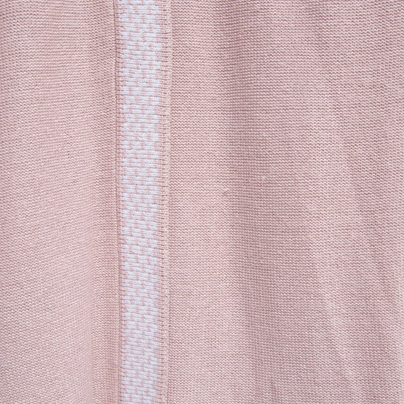 vintage | 80's twin peaks | pink + white | sweate… - image 3