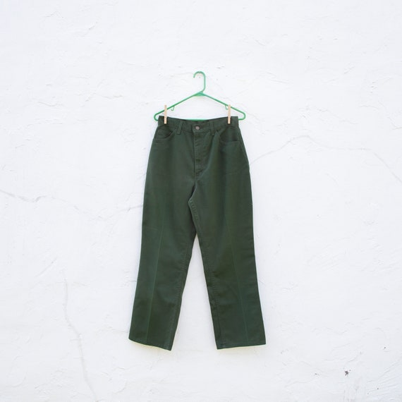 "utility pants | green |"" waist 