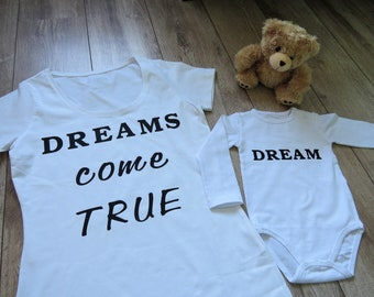 d1e0baf4dbb Mama and baby matching t-shirts