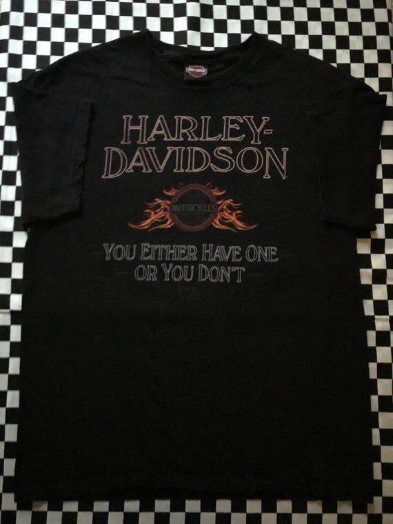 Vintage Harley Davidson Shirt || Harley Davidson T