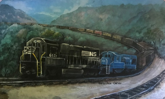 Norfolk Southern on Horseshoe  Curve