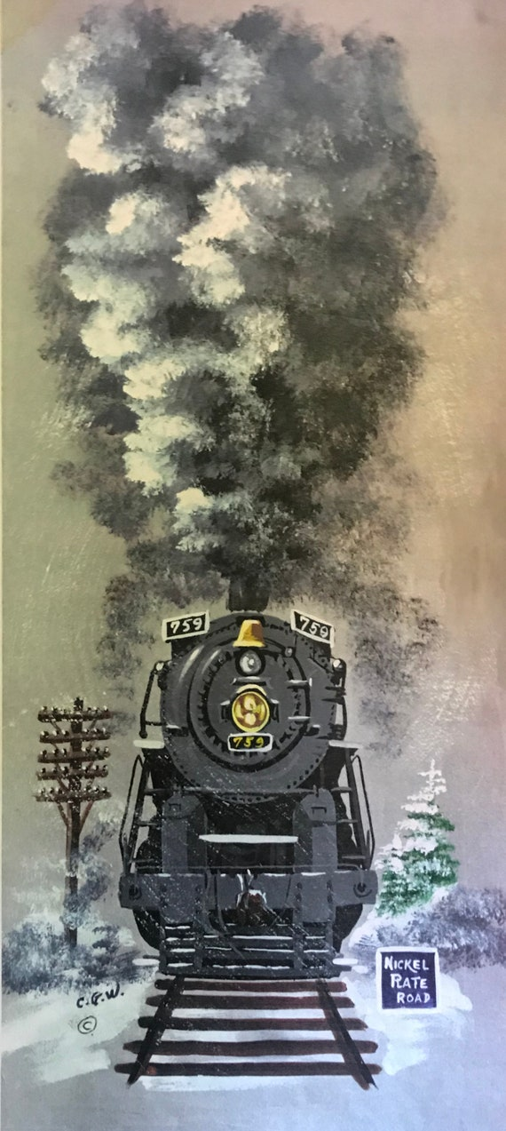 Nickel Plate Train