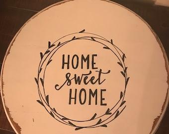 Home Sweet Home Lazy Susan