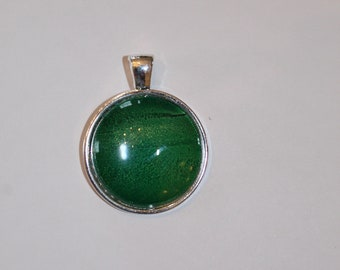 Green Orb Necklace