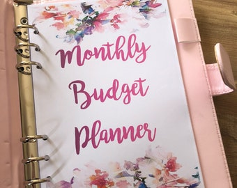 budget book etsy