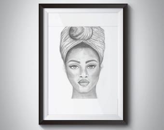 Headwrap Portrait