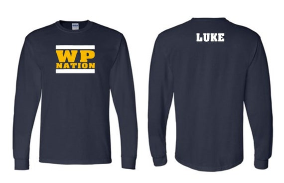WP NATION -long sleve SHIRT
