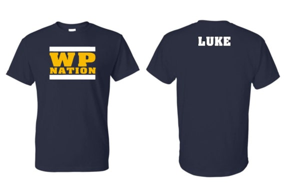 WP NATION -SHIRT- if not going but want mailed