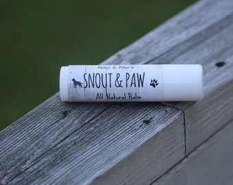 Paw and Snout Balm
