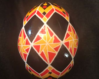 Pysanky -  chicken egg