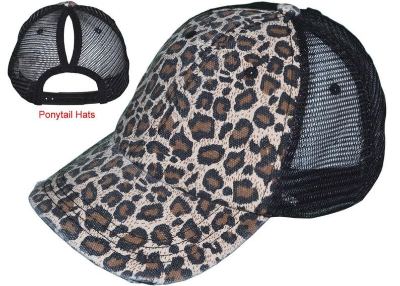 Monogrammed Leopard Hat Womens Hat Trucker Hat Custom Hat Leopard Hat