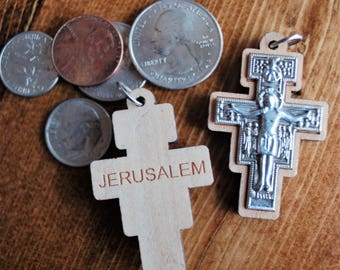 Crosses from Jerusalem now avaialble on special Rosaries