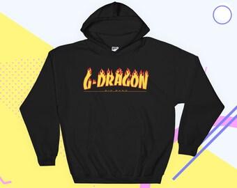 6b60369a646 G-Dragon Hoodie Aesthetic Clothing Kpop Big Bang V.I.P