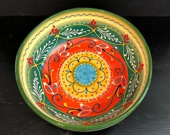 Vintage El Poyeton cermaic bowl