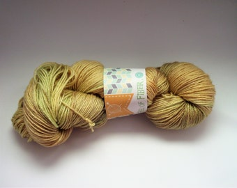 """Blue-faced Leicester Superwash/Silk 55/45 Sock Yarn """"A Walk In the Spring Woods"""""""