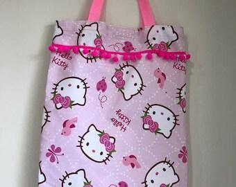 Hello Kitty Library Book Bag