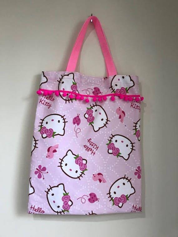 6f1e5c675f3 Hello Kitty Library Book Bag | Etsy