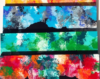 """Abstract """" Four seasons """""""
