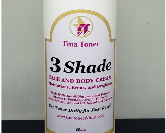 Tina toner 3 Shade lotion