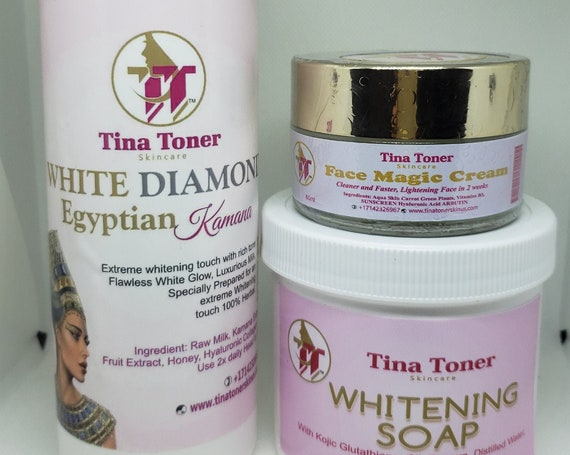 16 oz Egyptian lotion, face magic and soap whitening set of 3 Best Seller