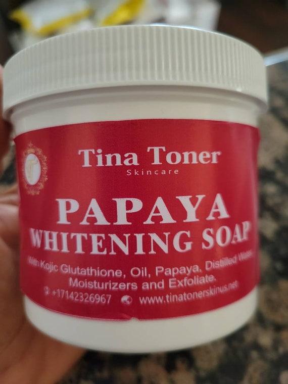 Lightning papaya soap