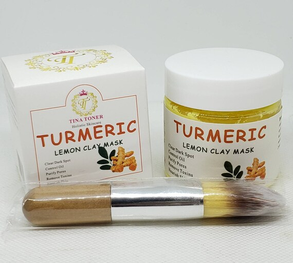 Turmeric  lemon clay mask 50oz