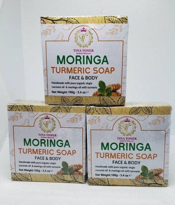 Moringa Turmeric Soap 3 piece