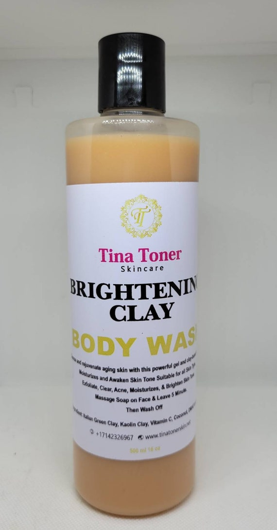 Brightening clay body wash 500mg