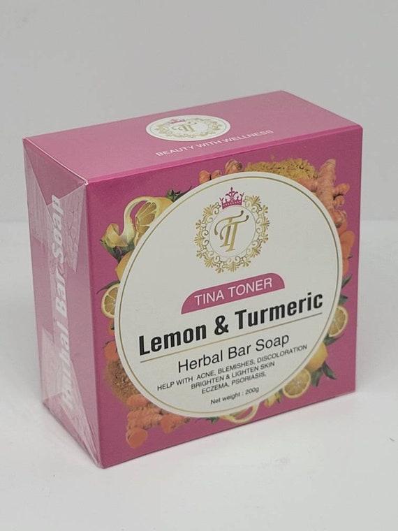 The New big Lemon Turmeric Soap 200g