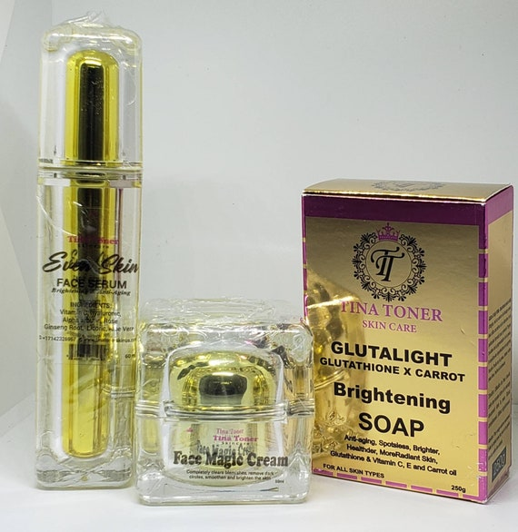 Brightening facial luxury set of 3