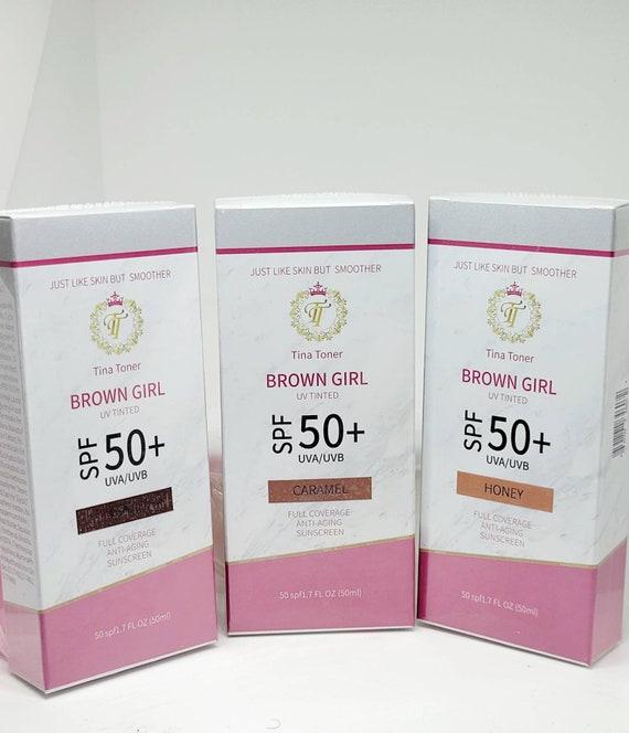 Brown Girl spf 50+ honey 60ml