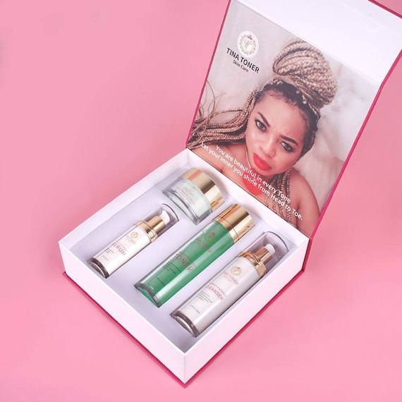 Face Magic   whitening face   set  of 4 . Limited edition