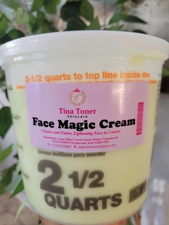 Face magic  Wholesale 2 liter . Half gallon