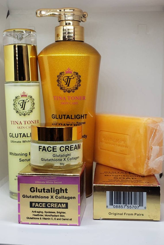 Glutalight full set of 4 with free bag
