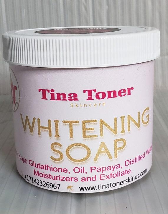 Toner whitening soap, KOJIC, PAPAYA,