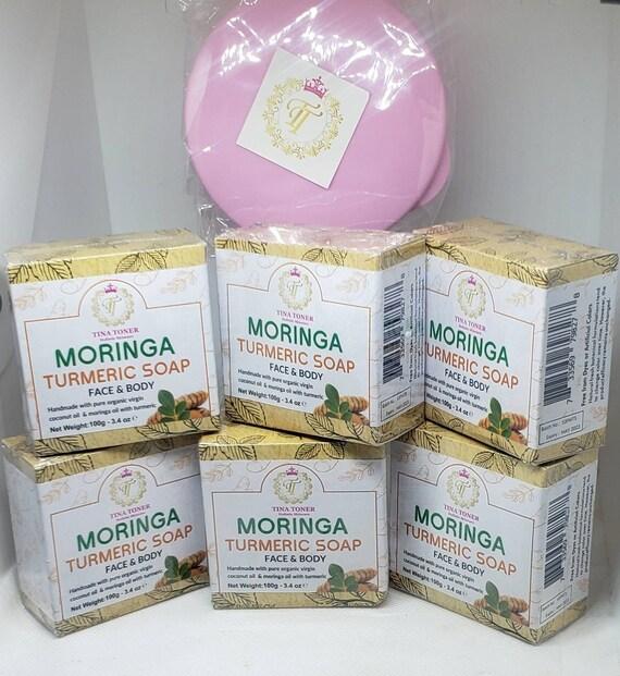 Moringa  Turmeric soap 6 piece