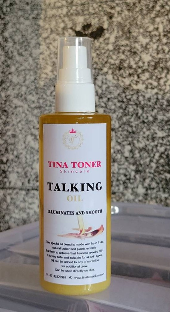 Talking whitening oil 4 oz