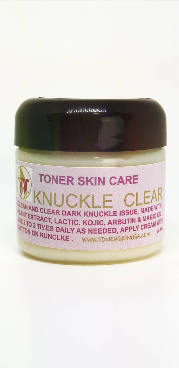 Knuckles  CLEAR  2 oz