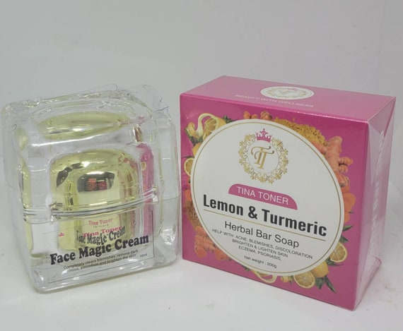 Face magic and soap set of 2
