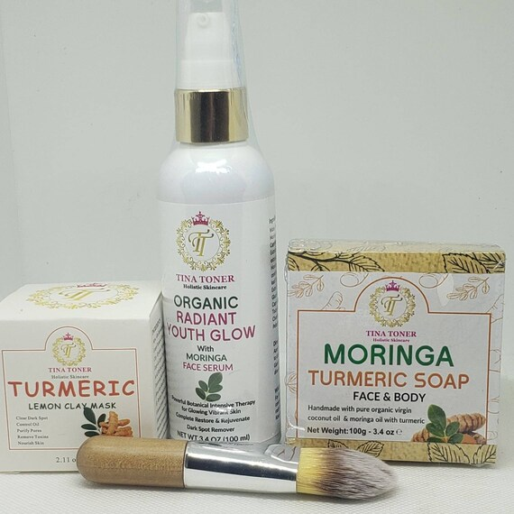 Radiant Face set with moringa