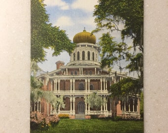 Travel Souvenir 1970s Postcard of Sternwheeler Natchez River Boat FREE Shipping to USA New Orleans Unposted Louisiana Paul Serpas Pic
