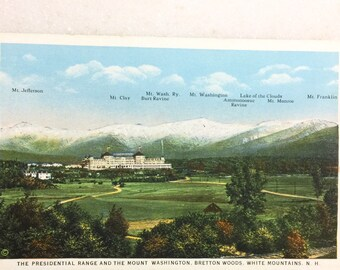 Early 1900s UDB Postcard- View of Glen Ellis River Jackson New Hampshire - Extremely Small Town PC ~ Free Shipping Carroll County N.H