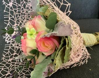 Soap Bouquet - one petal, one hand wash!!! Unique Christmas gift idea.