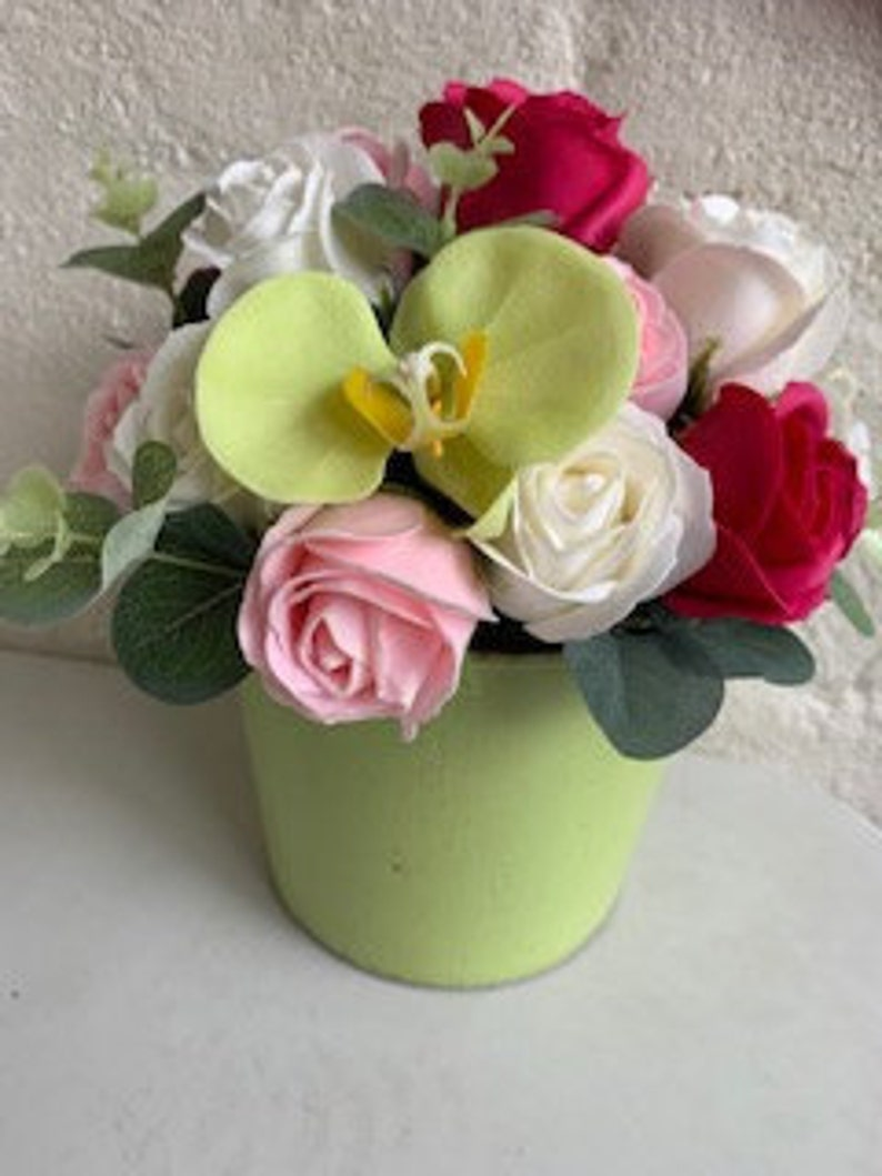 Soap Bouquets-one petal one hand wash A unique gift idea for image 0