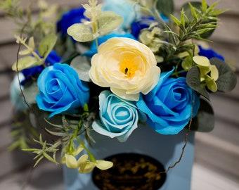 Soap Bouquet - one petal, one hand wash, unique Christmas gift idea.