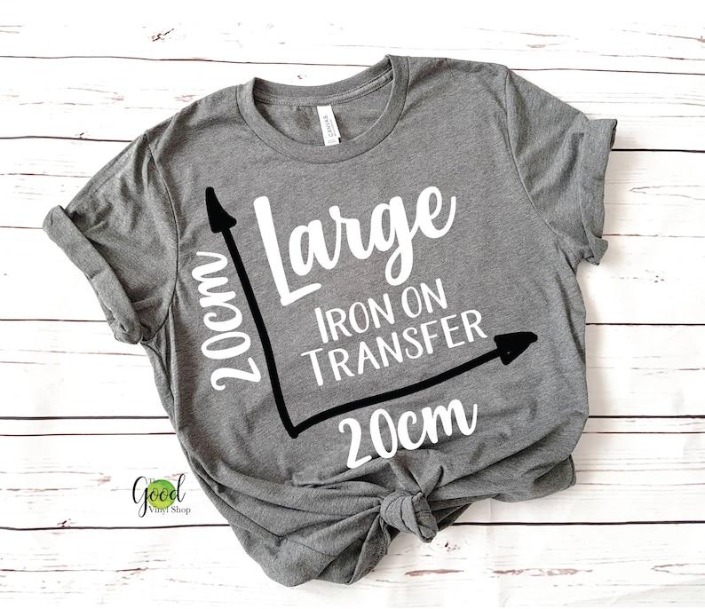 b9236fa8 Large Iron On Transfer Custom iron-on transfer Iron On | Etsy